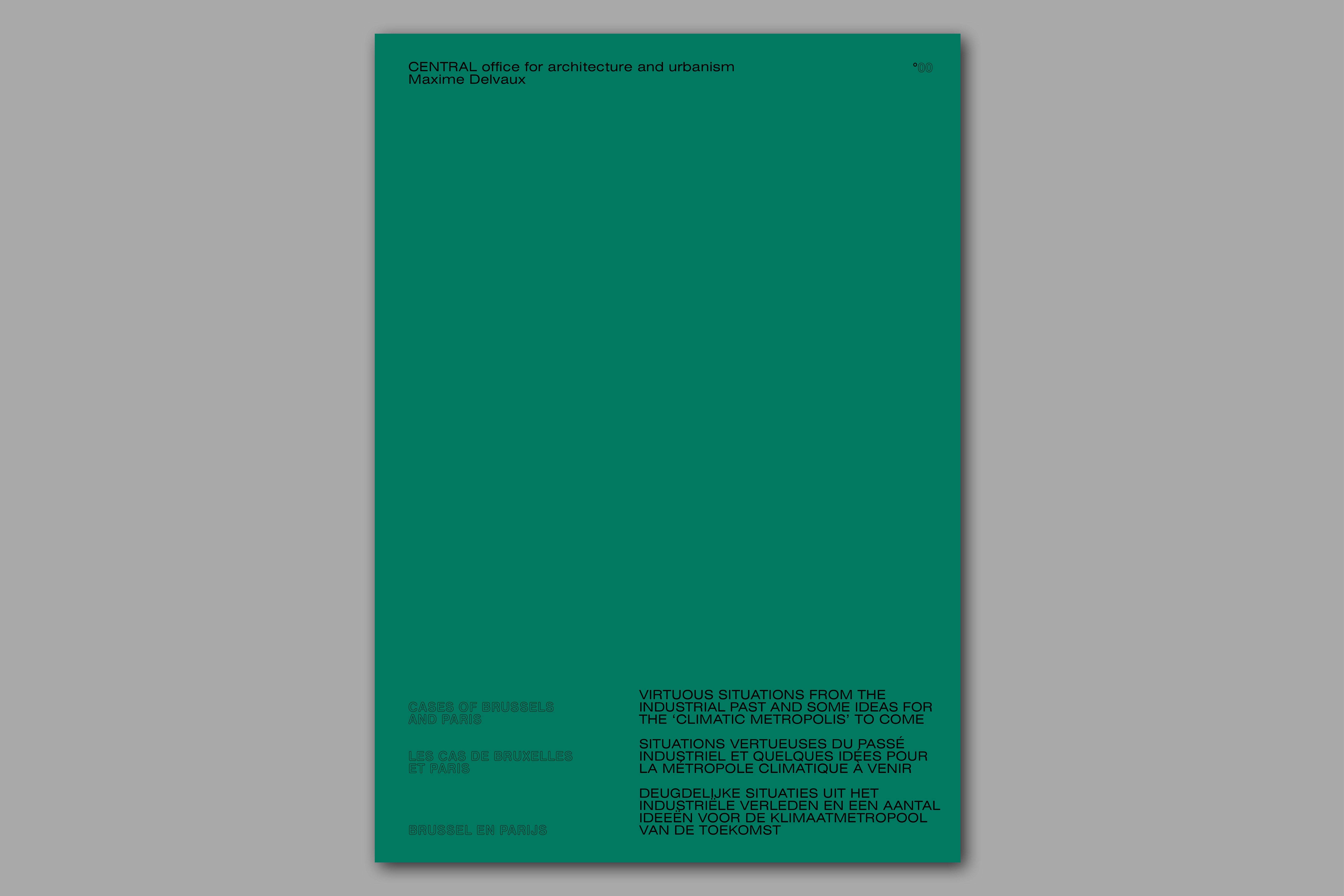Spiksplinternieuw edcat – CENTRAL office for architecture and urbanism UV-45